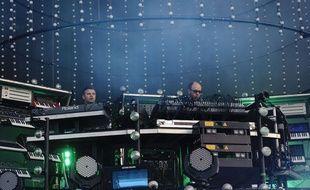 The Chemical Brothers au ireless Festival de Hyde Park à Londres en 2011.