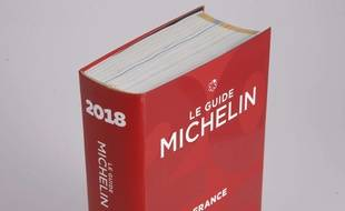 Illustration. Le «Guide Michelin» 2018.