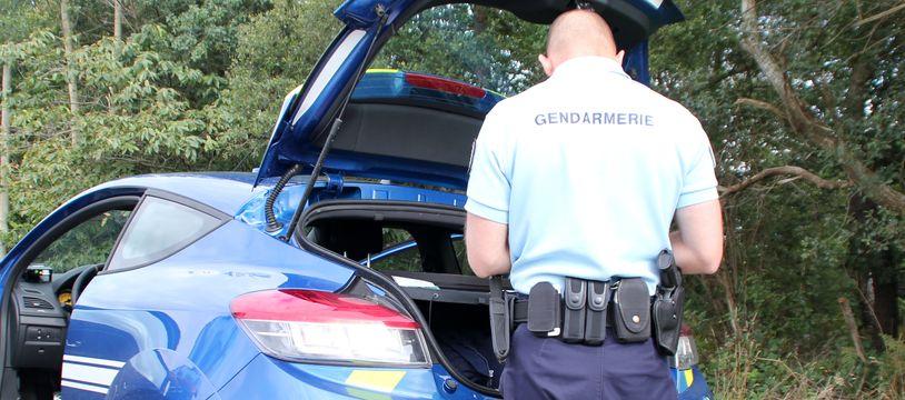 Illustration d'un contrôle de gendarmerie, ici en Ille-et-Vilaine.