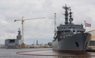 Le Mistral Sébastopol à Saint-Nazaire le 19 juillet 2014.