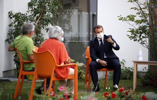 Coronavirus: Emmanuel Macron ne veut pas «isoler à nouveau nos aînés»