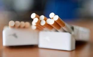 L'organisation de malfaiteurs aurait volé pas moins de 4.000 paquets de cigarettes (illustration)