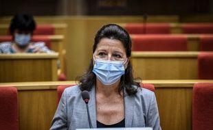 Agnès Buzyn a été entendue au Sénat par la commission d'enquête sur la gestion de l'épidémie de Covid-19 en France, le 23 septembre 2020.