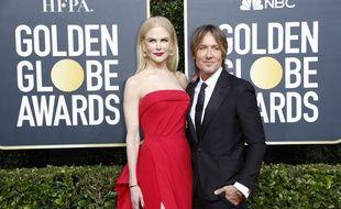 L'actrice Nicole Kidman et son mari, le chanteur Keith Urban