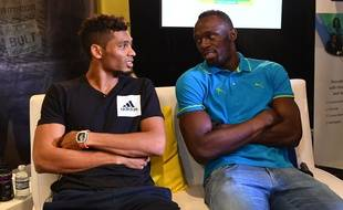 Wayde van Niekerk et Usain Bolt, la passation de pouvoir assurée