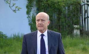 Alain Juppé, le 28 avril 2016 à Bordeaux