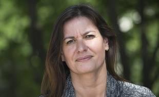 Françoise Coutant, tête de liste d'EELV en Aquitaine Limousin Poitou-Charentes lors des élections régionales de 2015.