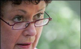 """Christine Boutin, présidente du Forum des républicains sociaux (associé à l'UMP), qui décidera """"en novembre"""" si elle se présente à l'élection présidentielle, a d'ores et déjà recueilli """"près de 450 parrainages"""" sur les 500 nécessaires."""