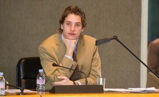 Jean Sarkozy au Conseil général des Hauts-de-Seine en 2011.