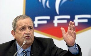 Le président de la fédération française de football, Fernand Duchaussoy, le 23 juillet 2010.