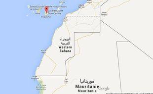 Google map de Grande Canarie