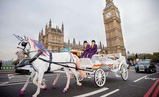 Pour 2 jours, des calèches feront office de taxis à Londres