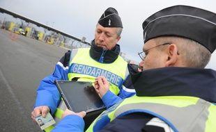 Avec la nouvelle application mobile GendNote les gendarmes pourront prendre des notes directement sur leur portable professionnel pendant les interventions et les transmettre plus rapidement.