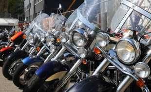Des motos (illustration).