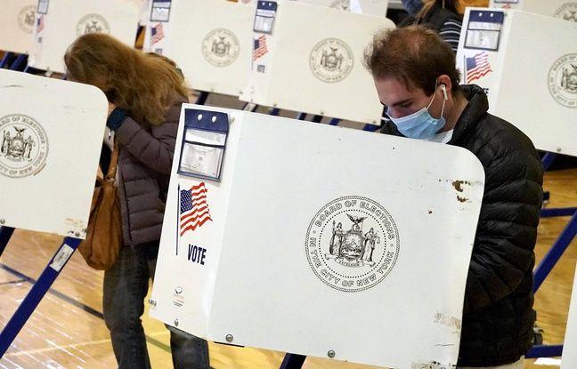 648x415 des electeurs a new york lors de la presidentielle americaine du 3 novembre 2020
