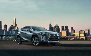 Le Lexus UX saura se faire remarquer dans la circulation.