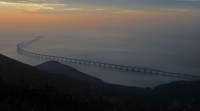 Chine: Ce «pont maritime» de 55 km est le plus long du monde