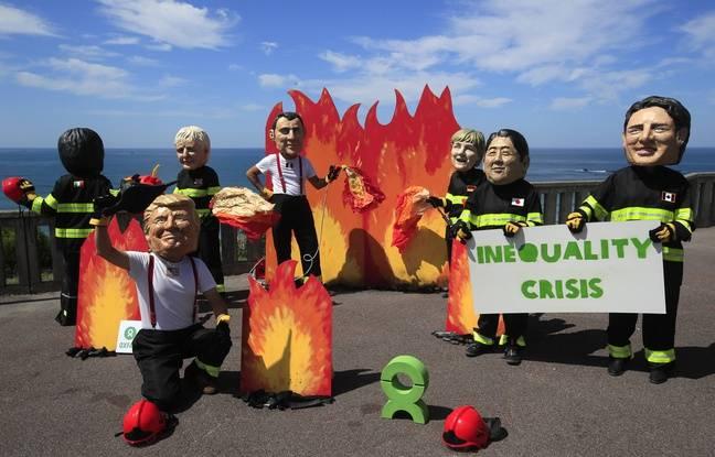 G7à Biarritz. EN DIRECT: Suivez l'ouverture du sommet et la manifestation du contre-sommet en direct
