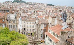 Trois immeubles se sont effondrés rue d'Aubagne.