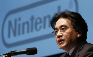 Satoru Iwata, patron de Nintendo, le 31 janvier 2013, à Tokyo.