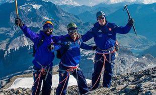 Les Bleus en ont bavé sur le glacier de Tignes.