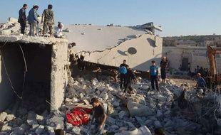 Les premières frappes de la coalition en Syrie ont causé la mort d'au moins 120 djihadistes.