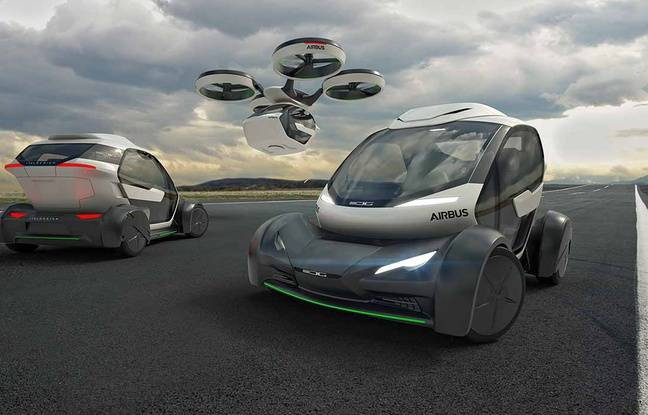 Vidéo - Airbus dévoile un projet... de voiture volante