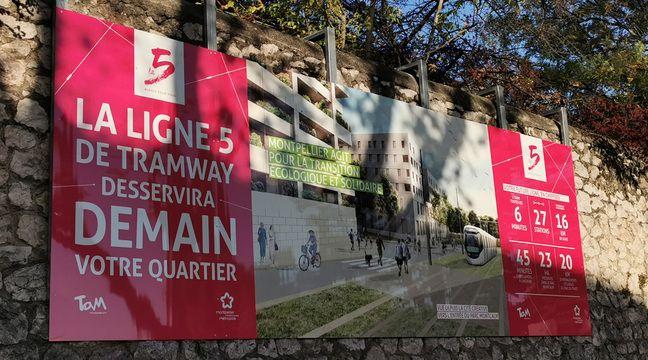 Montpellier : La ligne 5 du tramway dit adieu à ses ponts et part à la conquête de l'ouest