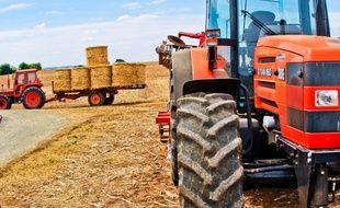 Illustration de tracteur.