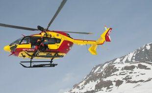 Un scout, blessé, a été directement transporté à l'hôpital de Grenoble.