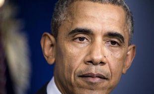 Le président Barack Obama, le 1er août 2014 à Washington
