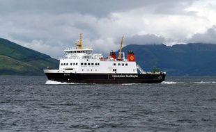Ferry à proximité de l'île de Bute