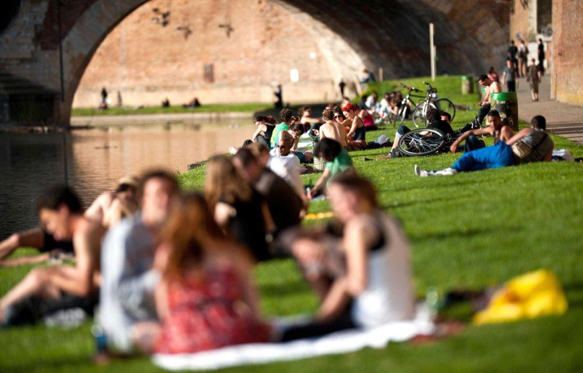 Illustration chaleur Toulouse. – F. Lancelot / SIPA