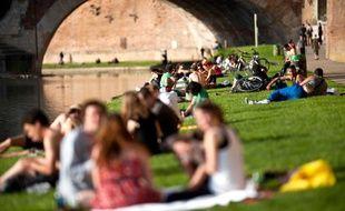 Illustration chaleur Toulouse.