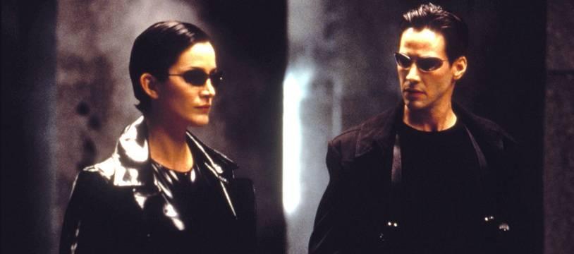 Keanu Reeves et Carrie Anne Moss dans «Matrix».