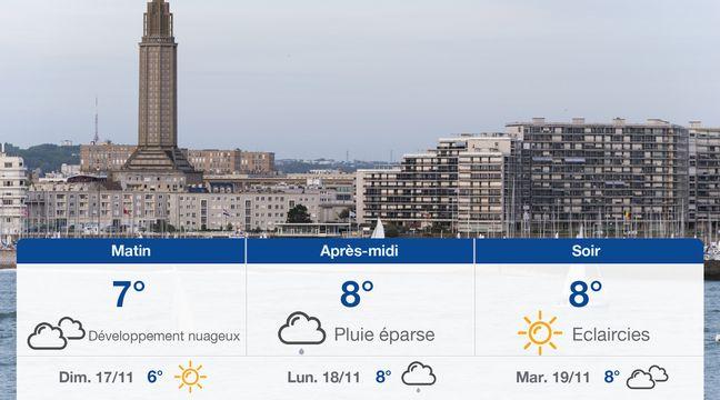 Météo Le Havre: Prévisions du samedi 16 novembre 2019 - 20minutes.fr