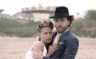 Océane et Marc, les deux acteurs principaux.