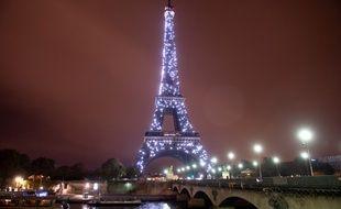 La tour Eiffel quand elle scintille. (archives)