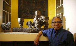 Balkrishna Doshi est le premier Indien à recevoir le prix Pritzker, une sorte de Nobel d'architecture.