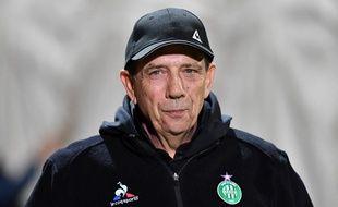 Jean-Louis Gasset a entraîné les Verts de décembre 2017 à juin 2019 avec réussite.