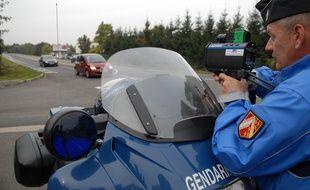 Contrôles routiers par la gendarmerie. (Illustration)