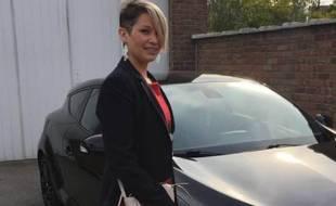 Lisa-Marie Vangeluwe, 20 ans, a été victime d'un accident domestique.