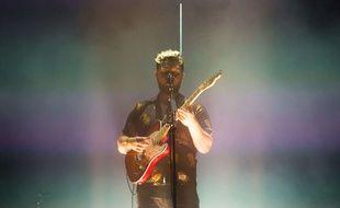 Alt-J en concert au festival de Glastonbury, en juin 2017.