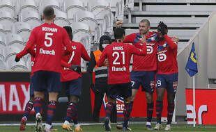La joie des Lillois face à Monaco