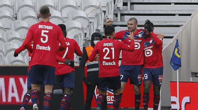 Losc-AS Monaco: Lille s'impose face à un concurrent direct et reprend la deuxième place de Ligue 1..Revivez le match avec nous