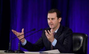 Le président Assad le 15 février 2016 à Damas.