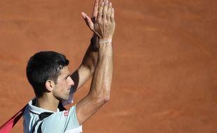 Novak Djokovic après sa défaite contre Rafael Nadal en demi-finale de Roland-Garros, le 7 juin 2013.