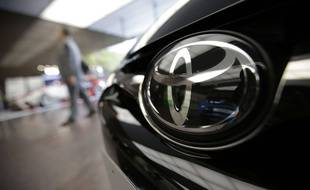 Le logo de Toyota.