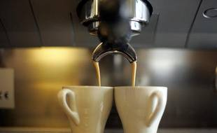 Tasses de café, illustration.