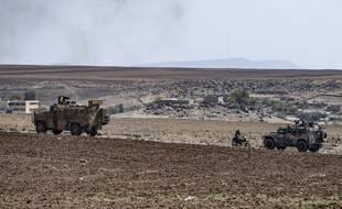 Des véhicules militaires turques et russes en Syrie. (illustration)